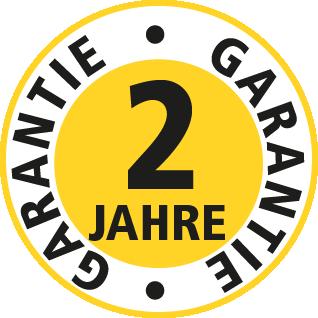 2 Jahre Garantie